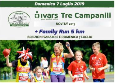Ritorna la Family Run 5 km